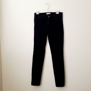 Abercrombie & Fitch Black Skinny Jeans Size 8